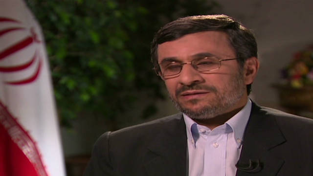 Ahmadinejad: U.S. is doing an ugly thing