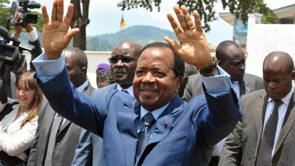 Eighty-two year old Paul Biya has been Cameroon