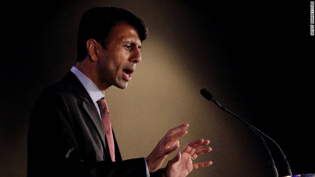 Louisiana Gov. Bobby Jindal speaks during the 2011 Republican Leadership Conference.