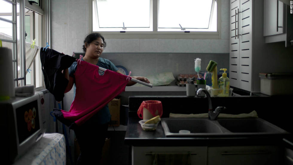 "While working as a journalist in Singapore, Sim Chi Yin was struck by the response of ordinary people to the suggestion that domestic workers should be entitled to a day off. ""I was coming up against editors and readers who were very angry every time that sort of story appeared because they probably didn't give their workers a day off,"" she says."