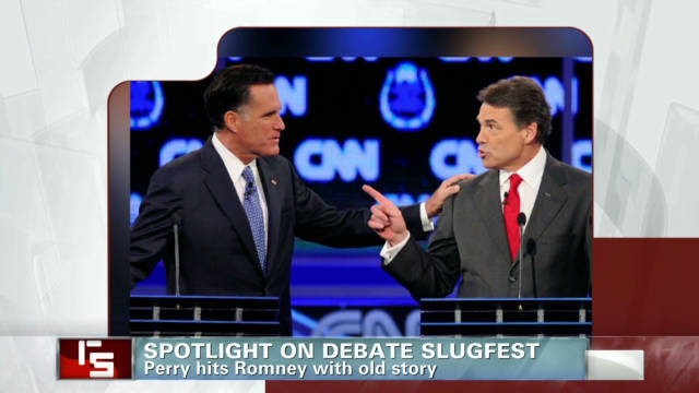 Spotlight on debate slugfest