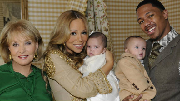 """""""We look identical and we have the identical smile,"""" Mariah Carey said about her son Moroccan."""