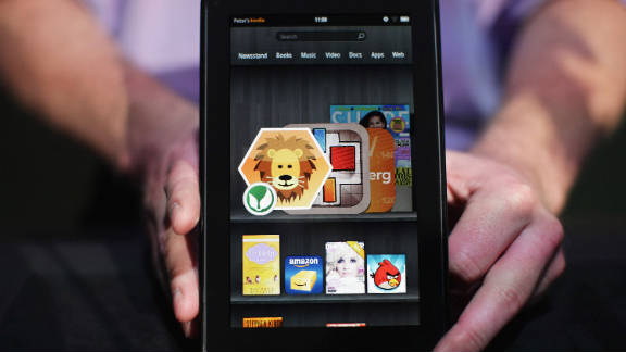 Amazon's upcoming Kindle Fire is one of several contenders in the fast-growing small tablet market.