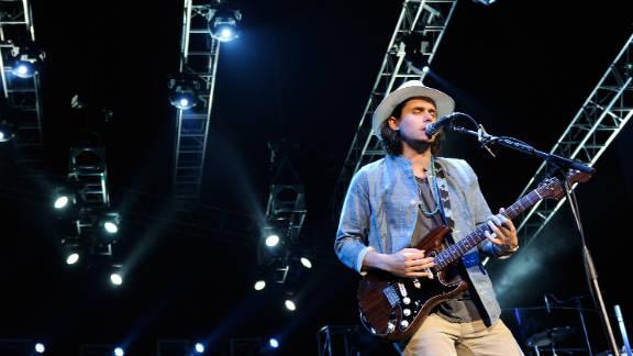 John Mayer performs during Tiger Jam 2011 in Las Vegas, Nevada.