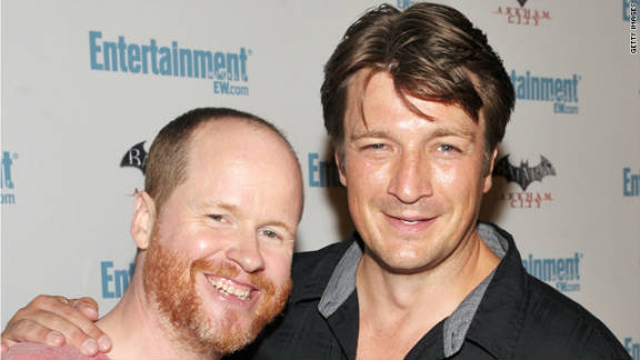 """""""Firefly"""" director Joss Whedon and actor Nathan Fillion, among others, plan to attend the show"""