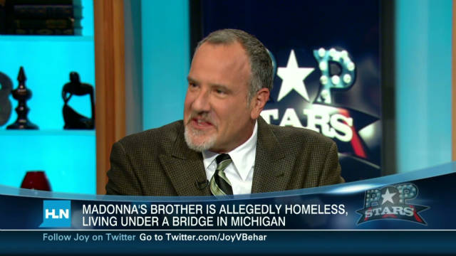 Madonna's brother: I'm homeless
