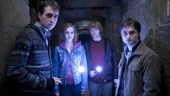 """Already turned into blockbuster films, J.K. Rowling's """"Harry Potter"""" books are finally available for e-readers."""