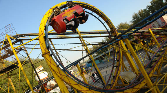 Zwanzger says this roller coaster is possibly the worst he has ever experienced.