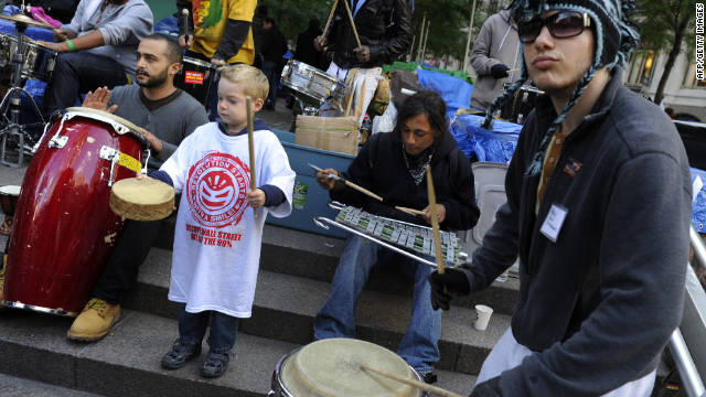 To address noise complaints, Occupy Wall Street protesters in New York have agreed to limit drumming to four hours a day.
