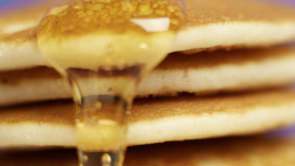 Maple syrup is made from the sap of maple trees, though the artificial varieties are often just a combination of water and sugars. Nutritional perks of authentic syrups include calcium and potassium. Calories per tablespoon: 52.