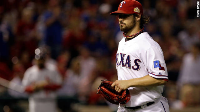 Texas Rangers pitcher C.J. Wilson wore a necklace by Phiten that some believe give athletes an edge.