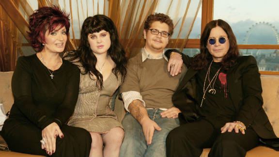 Sharon, Kelly, Jack and Ozzy Osbourne, shown here in 2004, were the stars of MTV