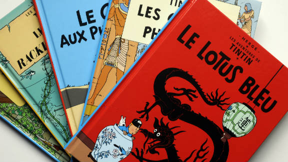 Tintin, the creation of Belgian author Herge, is beloved by children and adults the world over.