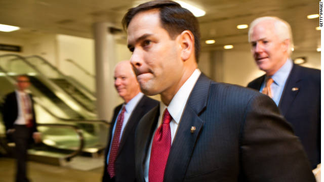 Marco Rubio has offered conflicting timelines for his parents' departure from Cuba.