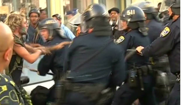 Violence erupts at Occupy Oakland