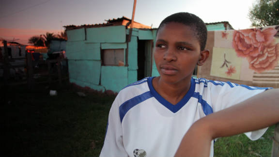 Zukiswa Gaca was 15 when she ran away from her home in rural South Africa after being raped. In Khayelitsha, near Africa