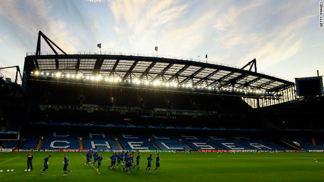 Stamford Bridge in west London has been Chelsea's home since 1905
