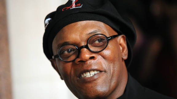 Samuel L. Jackson arrives at the FitFlop benefit ball to raise money for the Make-A-Wish foundation in London on August 5, 2011.