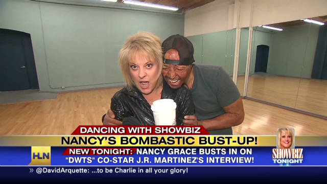 exp sbt nancy grace crashes dancing interview_00003001