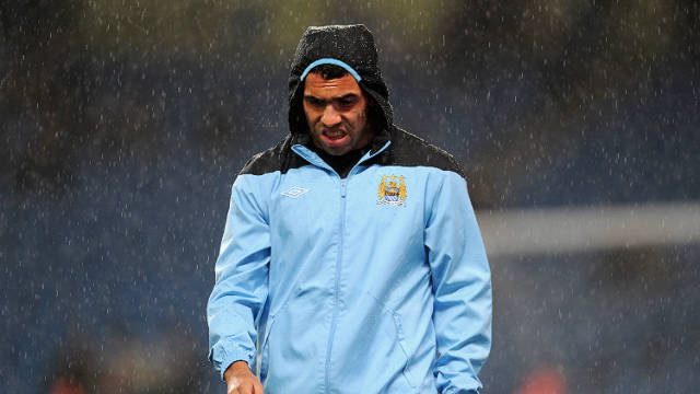 Carlos Tevez has not featured for Manchester City since his row with Roberto Mancini.