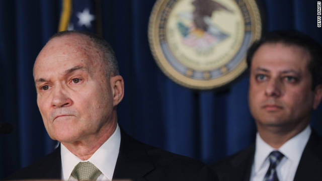 New York City Police Commissioner Raymond Kelly talked to the press about the officers' indictments.