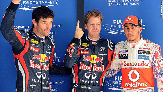 Sebastian Vettel continues his, and Red Bull's dominance of Formula One with his 13th pole of the season in India.