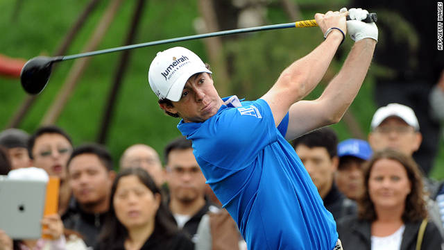 The reigning U.S. Open champion is still on course for the $2 million top prize at the Shanghai Masters
