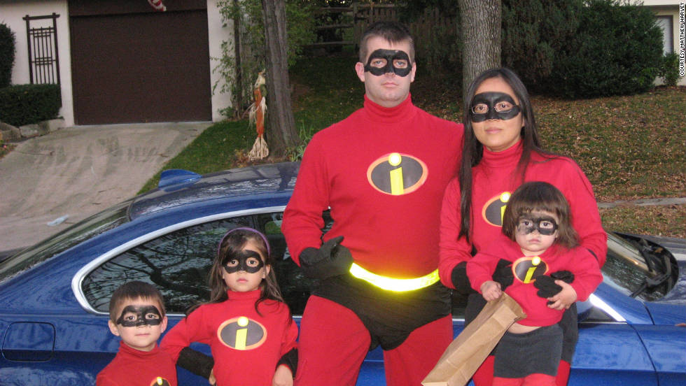 Matthew Harvey of Columbia Maryland says he and his family dressed up as u0026quot & So scary! Revelers team up for awesome costumes - CNN