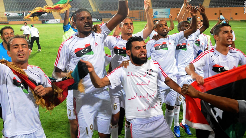 Equatorial Guinea will be making their first tournament appearance. Henri Michel's side will joined in Group A by two-time runners-up Zambia and Senegal. Libya, pictured here, complete the group, qualifying despite their recent civil war.