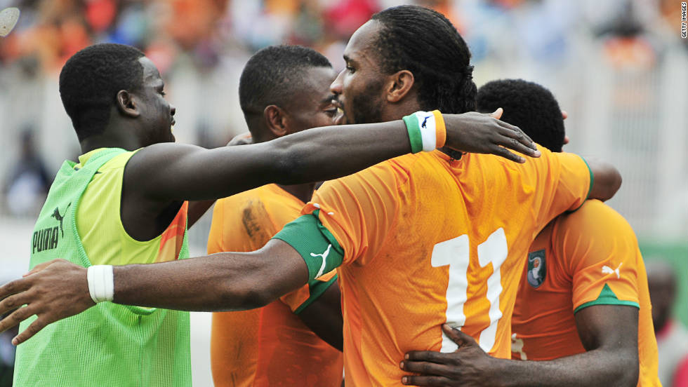 Ivory Coast will be firm favorites to advance from Group B, with their squad including star names such as Chelsea striker Didier Drogba and Manchester City midfielder Yaya Toure. They are joined by 1970 champions Sudan, 2010 hosts Angola and Burkina Faso.
