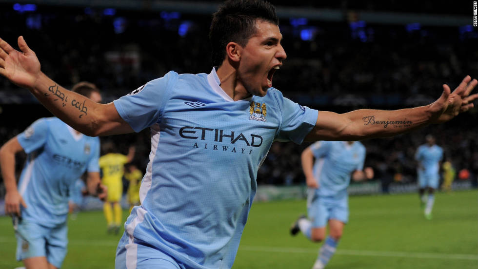 Argentina striker Sergio Aguero has made a flying start to his Manchester City career, and the former Atletico Madrid star could cap a fine year by being the named the planet's best player.