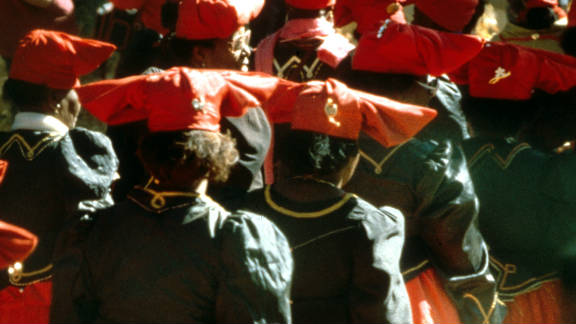 The Herero festival on Maherero Day falls on the last weekend in August. Each year the various units of parliamentary groups parade through the streets in full traditional dress in celebration of their history.
