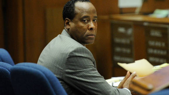 Dr. Conrad Murray is serving four years for his role in the death of Michael Jackson.