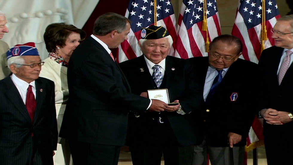 2011: Japanese WWII vets honored