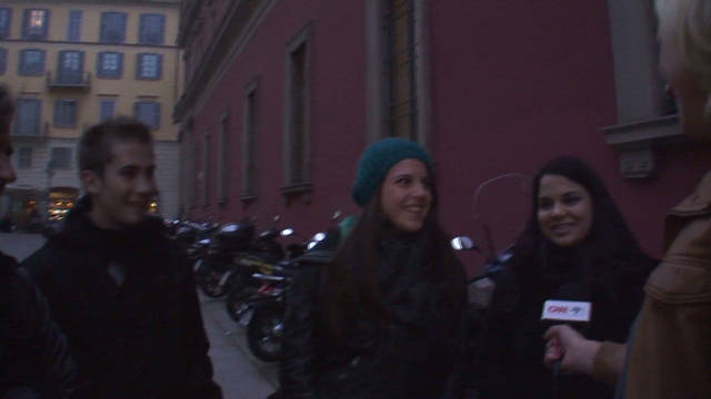 Italian youth discuss future of the euro