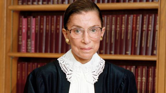 Ruth Bader Ginsburg is the second woman to serve on the Supreme Court. Appointed by President Bill Clinton in 1993, she is a strong voice in the court's liberal wing.