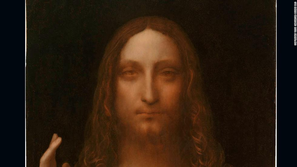 "Leonardo da Vinci's ""Salvator Mundi,"" c. 1500, was, for years, thought to have been destroyed. It was only re-discovered in the last five years and will go on public display for the first time in London in November."