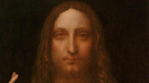 """Leonardo da Vinci's """"Salvator Mundi,"""" c. 1500, was, for years, thought to have been destroyed. It was only re-discovered in the last five years and will go on public display for the first time in London in November."""