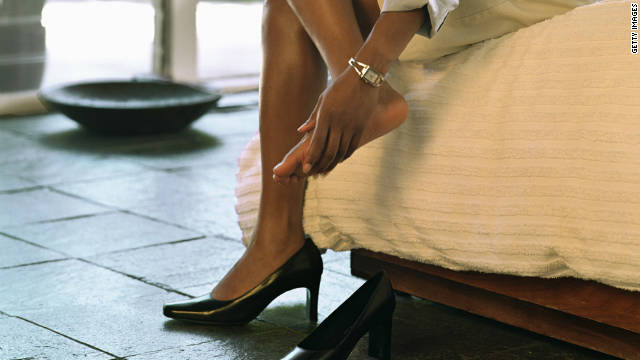 Your favorite footwear -- even the flats -- may be harming your body in surprising ways.
