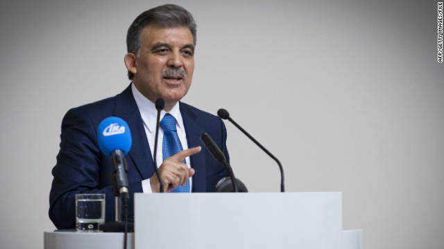 Turkey's President Abdullah Gul, pictured here in September, is among a growing chorus of critics over the court decision.