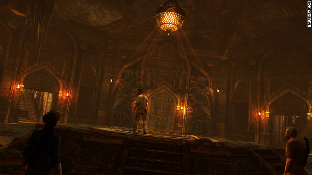Review Sharp Witty Uncharted 3 Succeeds In Hero S Latest Quest