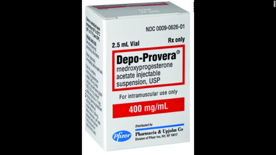 Depo-Provera, an injection form of birth control, provides protection for three months with hormones that prevent ovulation and block sperm. It doesn't contain estrogen, as do some other forms of birth control. As a result, it is a popular option for women who can't take estrogen or who are breastfeeding.