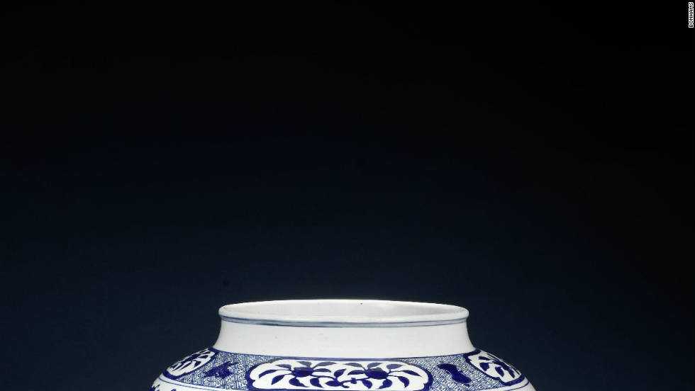 """Boys at Play"" jar offered as part of Bonhams London's sale of fine Chinese Art on the 10th of November, 2011, with an estimate of between $480,000 (£300,000) and $800,000 (£500,000)."
