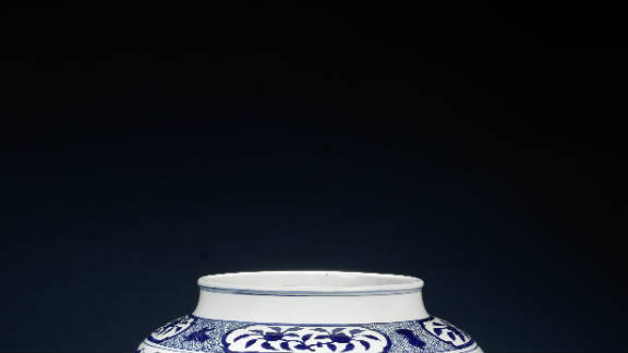 """""""Boys at Play"""" jar offered as part of Bonhams London's sale of fine Chinese Art on the 10th of November, 2011, with an estimate of between $480,000 (£300,000) and $800,000 (£500,000)."""