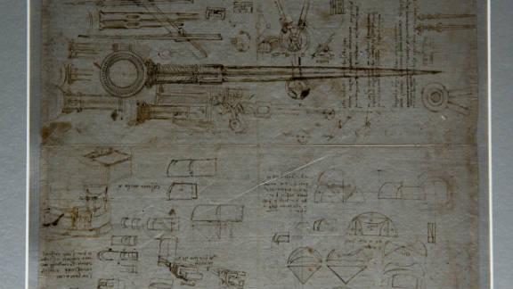 The wide range of Leonardo da Vinci