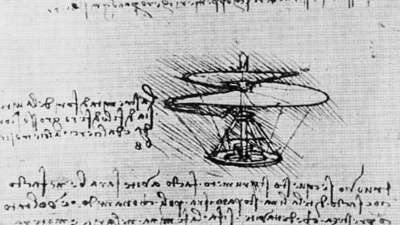 One of Leonardo da Vinci
