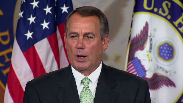 House Speaker John Boehner dismisses State Department concerns about the readiness of the oil pipeline project.