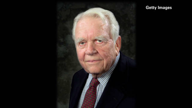Andy Rooney dies weeks after retiring