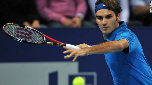 Roger Federer's fifth Swiss Indoor victory ended a 10-month ATP Tour title drought.