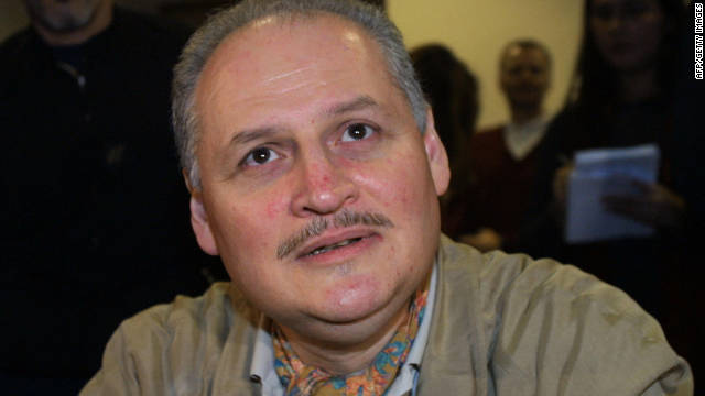 File picture of Venezuelan terrorist Illich Ramirez Sanchez known as 'Carlos the Jackal' taken at a Paris courthouse in November 2004.